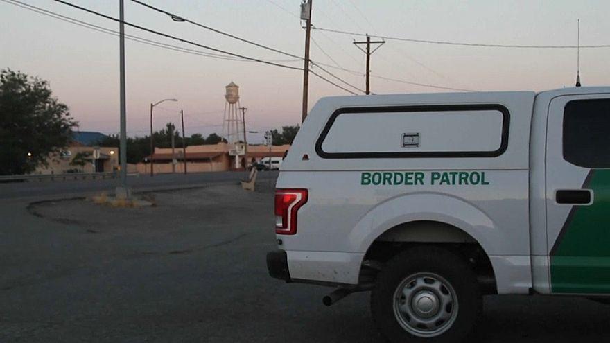 Fahrzeug des US-Grenzschutz in Clint/Texas