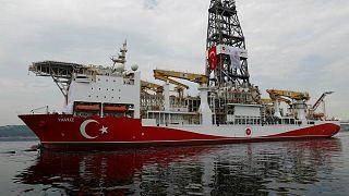 """السفينة التركية """"ياووز"""" تستعد للإبحار باتجاه شبه جزيرة كراباس"""