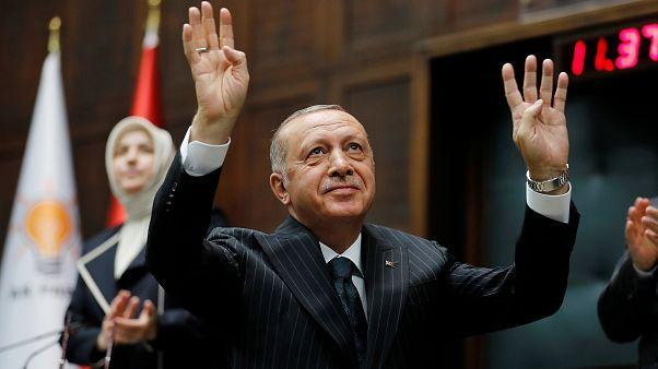 اردوغان: با ایجاد منطقه امن یک میلیون سوری میتوانند به کشور خود برگردند