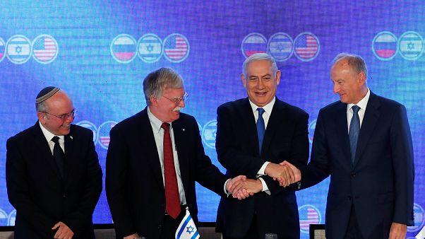 القمة الثلاثية في القدس: اتفاق على ضمان أمن إسرائيل وخلاف حول إيران