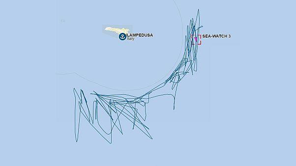 La deriva del Sea Watch 3 frente a Lampedusa dibuja la política migratoria italiana