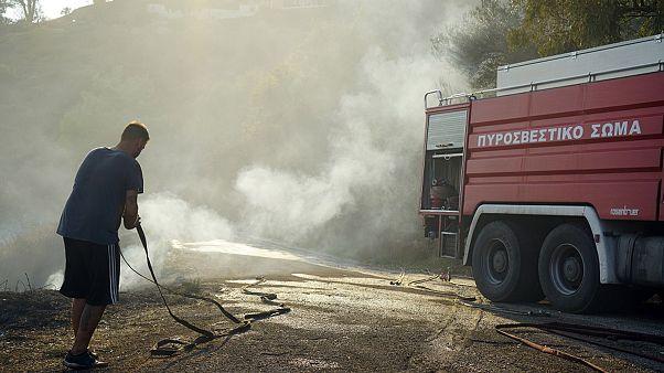 Πολύ υψηλός κίνδυνος πυρκαγιάς