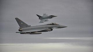 Megtalálták a német Eurofighterek fekete dobozát