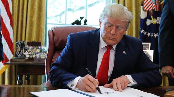 Trump: İran bir daha bize saldırırsa büyük ve ezici bir güçle karşılık bulacaktır