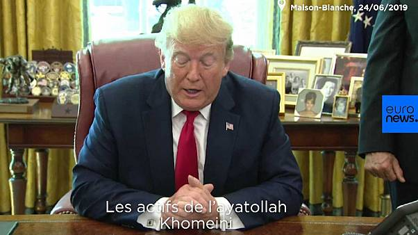 Donald Trump sanctionne l'ayatollah Khomeini, mort en... 1989