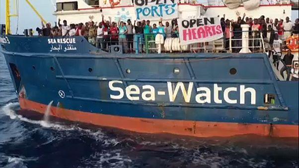 Sea Watch : la capitaine du navire veut forcer le blocus italien
