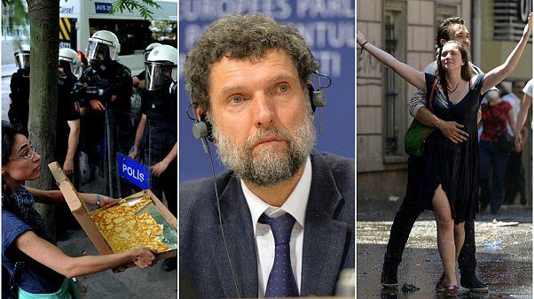 Gezi davasında ara karar: Osman Kavala'nın tutukluluk haline devam