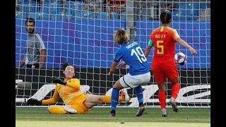Itália elimina China do Mundial Feminino