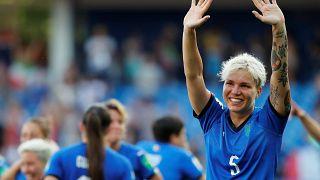 Kadınlar Dünya Kupası: Hollanda ve İtalya çeyrek finale yükseldi