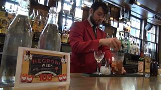 Toasting Negroni on the beloved cocktail's centennial