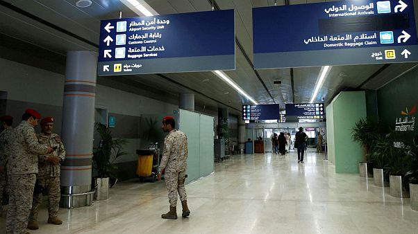 شبکه المسیره یمن: حمله پهپادی حوثیها به دو فرودگاه در خاک عربستان