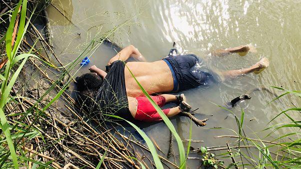 ABD-Meksika sınırında Aylan Kurdi ile aynı kaderi paylaşan baba ve kızı