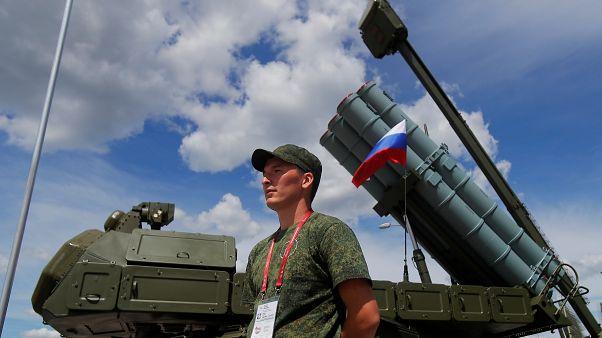 Выставка новейших вооружений в Подмосковье