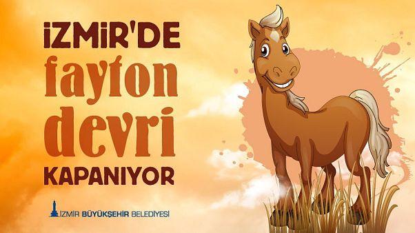 İzmir Büyükşehir Belediyesi fayton kullanımını yasakladı