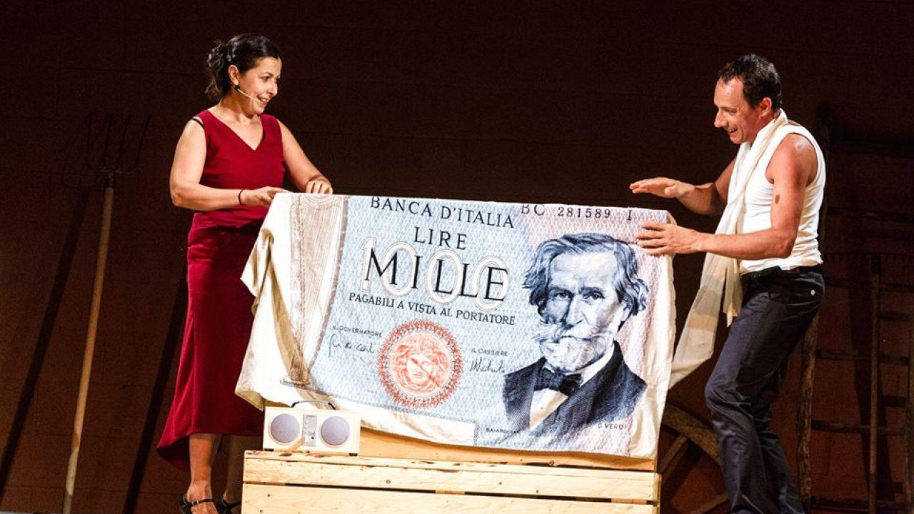 'L'altra Opera', spettacolo di e con Roberta Biagiarelli e Sandro Fabiani.