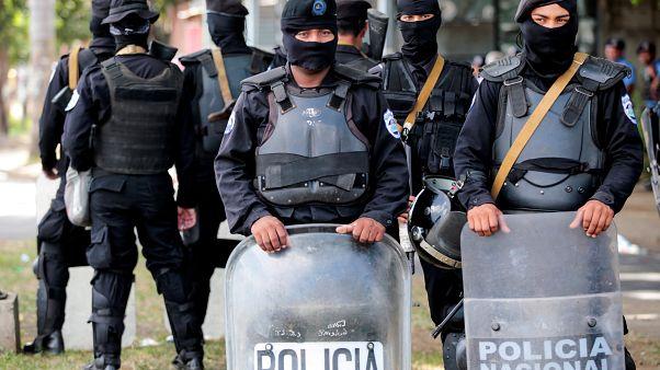 Foto ilustrativa - Policía de Nicaragua. Managua, 28 de julio de 2018.