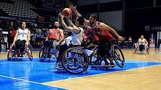 دیدار تیم ملی بسکتبال با ویلچر ایران با چین