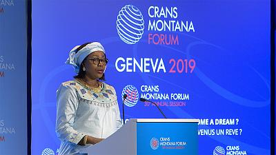 Crans Montana forum talks  peace, development and stability in Geneva