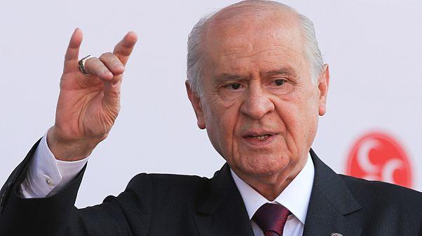 Μπαχτσελί: Θα συντρίψουμε όποιον ανακόψει την πορεία της Τουρκίας σε Μεσόγειο και Αιγαίο