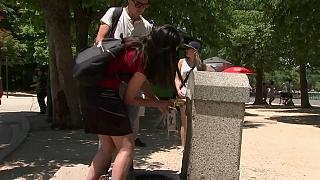 La ola de calor hace sudar a Madrid