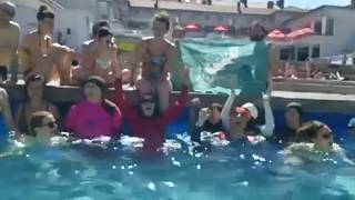 Women in Grenoble protest the local ban on burkinis