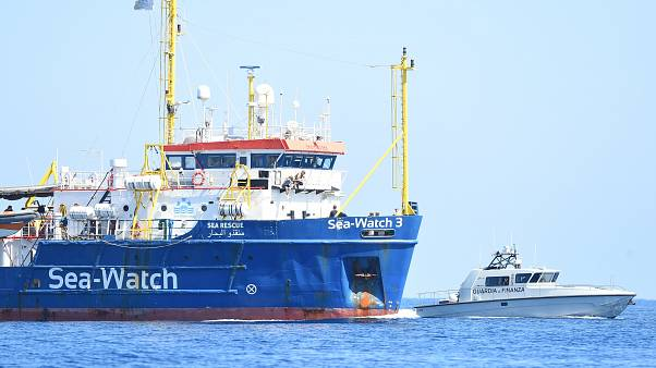 Судно Sea Watch вошло в воды Италии без разрешения