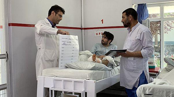 مستشفى لعلاج جرحى الحرب في كابل