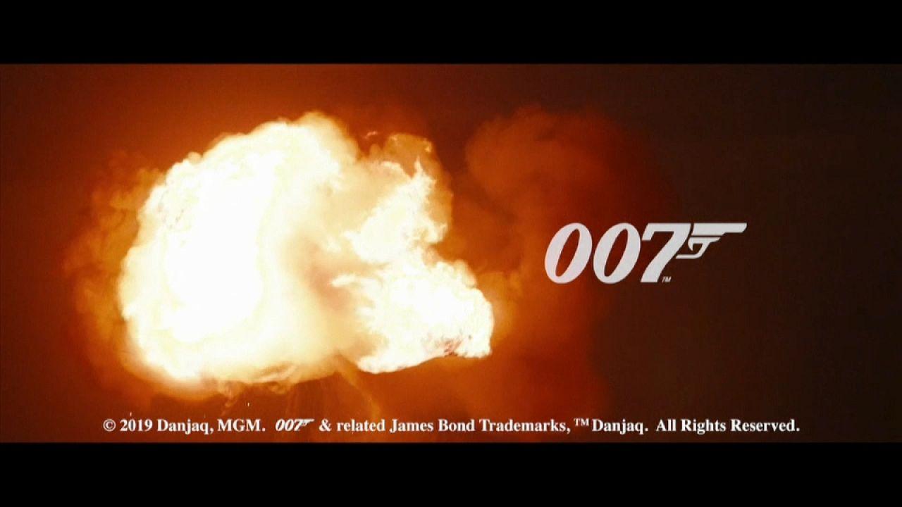 Πλάνα από τα γυρίσματα της νέας ταινίας του Τζέιμς Μποντ