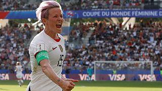مگان رپینو، کاپیتان تیم ملی فوتبال زنان آمریکا
