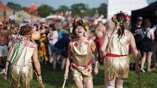 Plus de 3 800 groupes et artistes au festival de Glastonbury