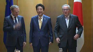G20-Gipfel: Regierungschefs treffen in Osaka ein