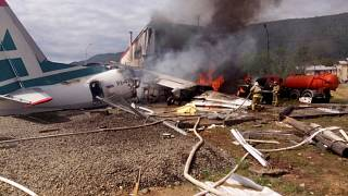 Ρωσία: Δύο νεκροί και 19 τραυματίες σε αναγκαστική προσγείωση αεροσκάφους