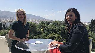 Η ΝΔ θα πετύχει τον στόχο της αυτοδυναμίας, εκτιμά η Μαρία Καρακλιούμη