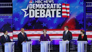 США: дебаты кандидатов-демократов начались