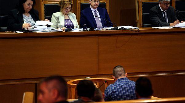 Ο κατηγορόυμενος Κωνσταντίνος Κορκοβίλης ξεκινά την απολογία του στη δίκη της Χρυσής Αυγής