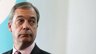 Nigel Farage, líder do Partido Brexit
