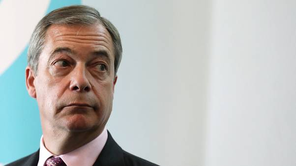 Nigel Farage, líder do Partido Brexit