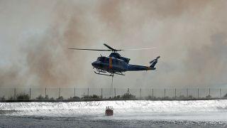 Лесные пожары в Каталонии: огонь не отступает