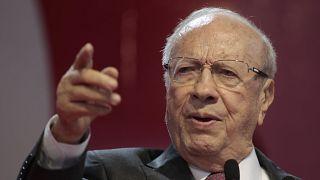 رئيس الجمهورية التونسي الباجي قائد السبسي.