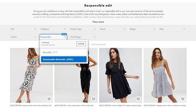 ASOS Responsible Edit