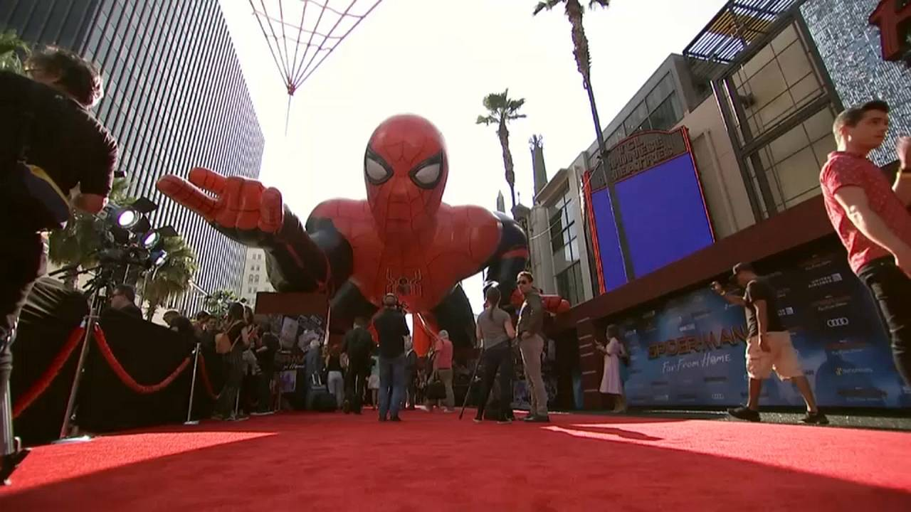 "Spider-Man ""Far from Home"" feiert Weltpremiere in Hollywood"