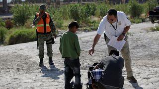 Testes de ADN para migrantes menores