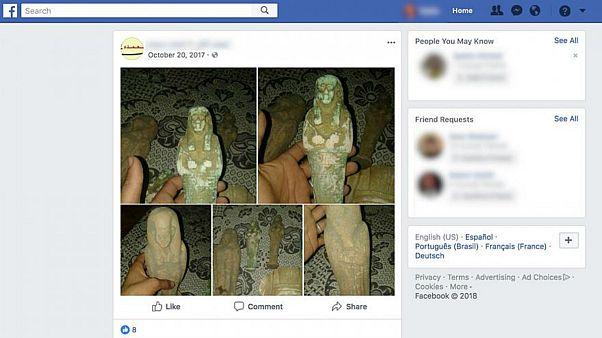 Orta Doğu'da yağmalanan tarihi eserler sosyal medya üzerinden Avrupa'ya satılıyor