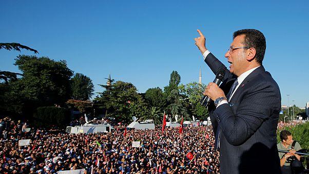 Mazbata alan İmamoğlu'dan ilk mesaj: İstanbul adil bir kent olacak