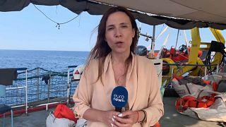 Euronews a bordo del Sea Watch