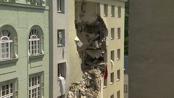 Explosion in Wien: Zwei Tote aus Trümmern geborgen
