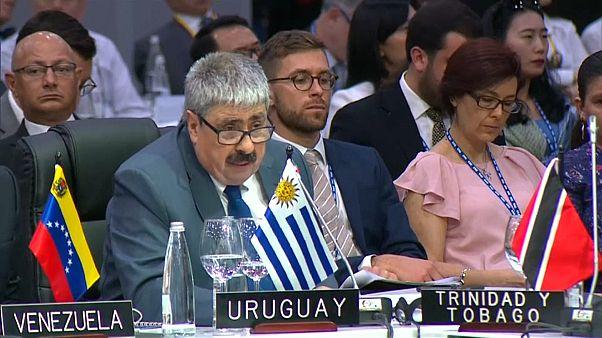 Uruguay abandona una sesión de la OEA por su gestión de la crisis venezolana
