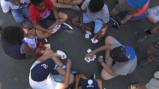 Canicule : les écoliers français à la peine