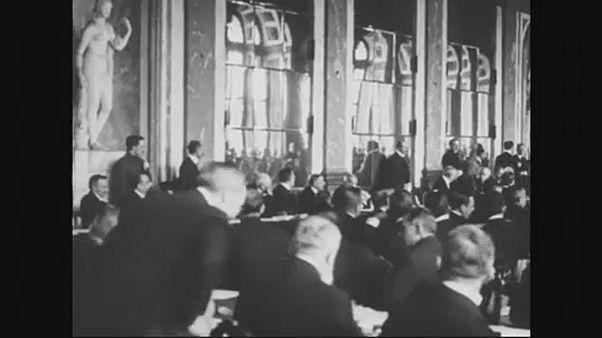 """""""فرساي"""".. مئة عام على المعاهدة التي أنهت الحرب العالمية الأولى"""