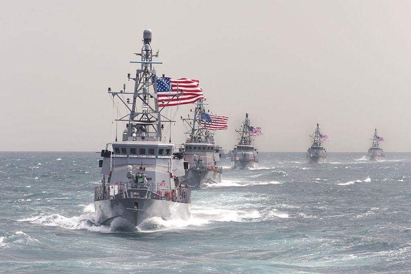 Charles Oki/U.S. Navy